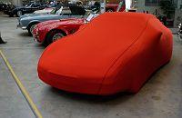 CAR CAPPY Indoor-Garage für Kia Shuma Bj.von 1997 bis 2004 Farbe Rot mit Keder