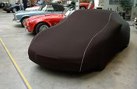 CAR CAPPY Indoor-Garage für Kia Shuma Bj.von 1997 bis 2004 Farbe Schwarz mit Keder