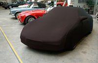 CAR CAPPY Indoor-Garage für Audi 100 C4 Avant Bj.von 1990 bis 1994 Farbe Schwarz mit Spiegeltaschen